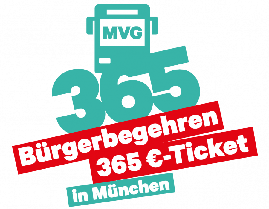 Logo-Bürgerbegehren-365 Euro Ticket in München